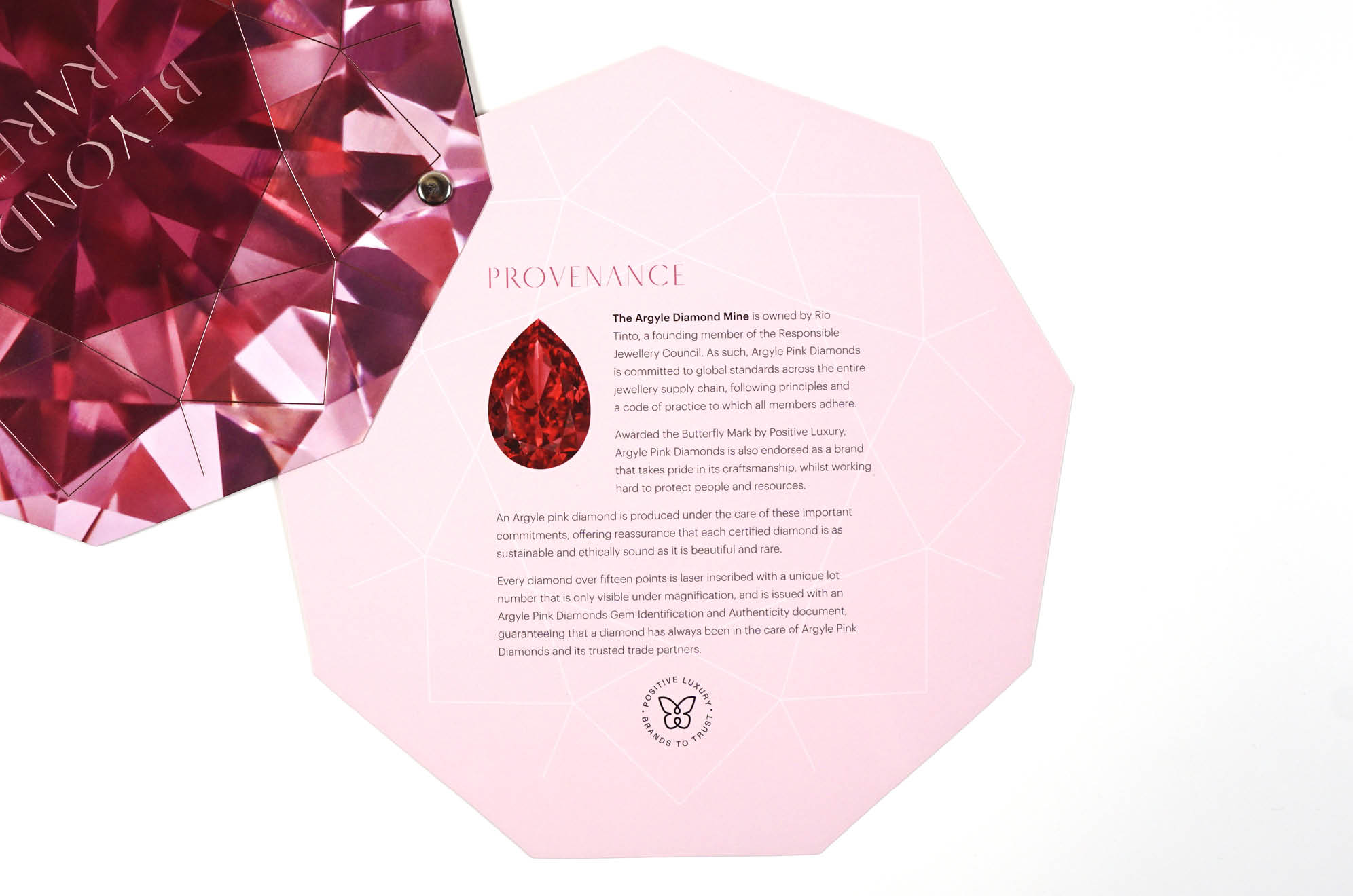 Argyle Pink Diamond Mine flyer
