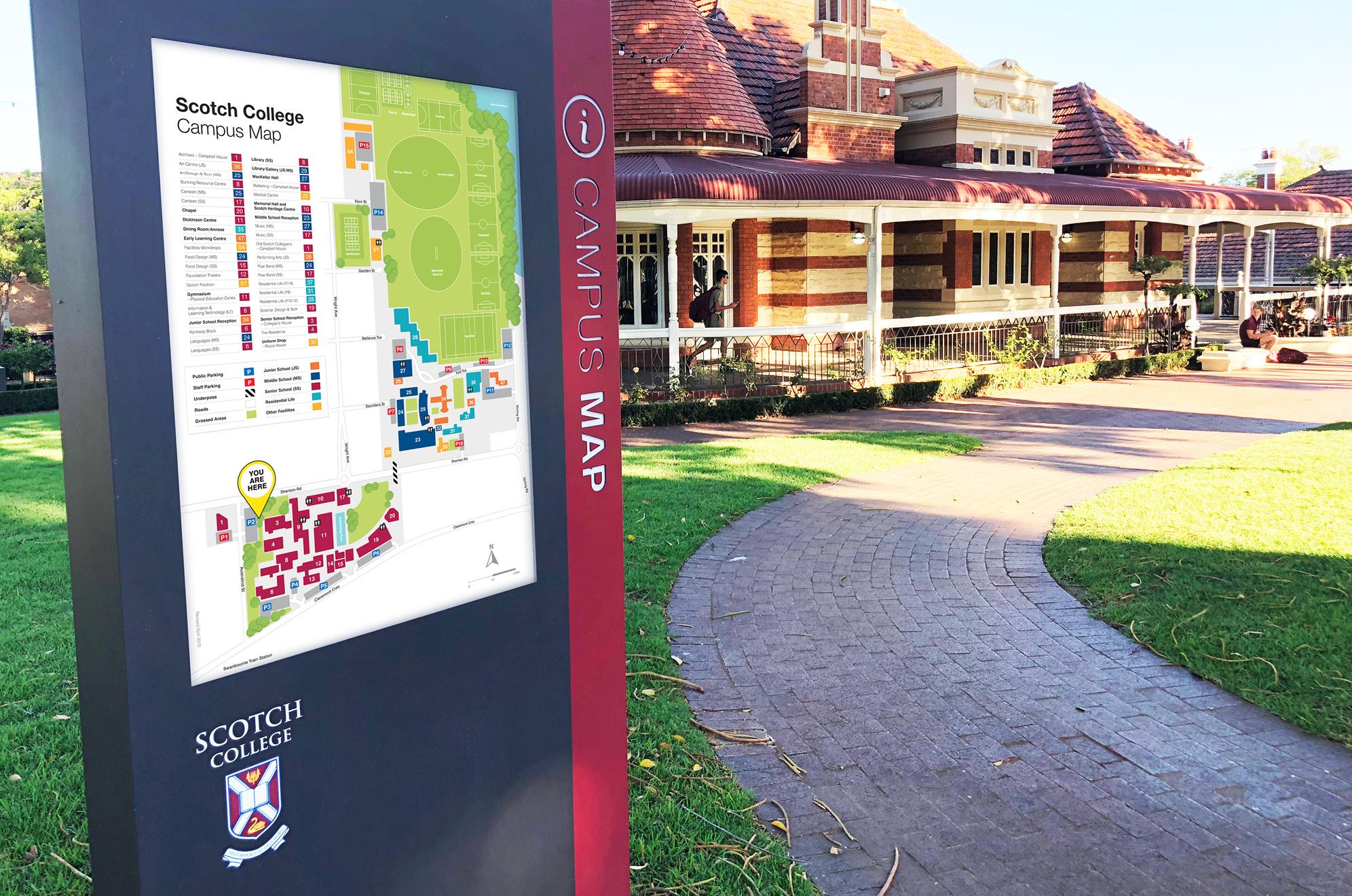 Lightbox Campus Map